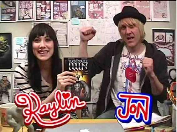 Kaylin Marie Andres and Jon Solo, the creators of Terminally Illin'.