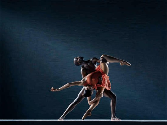Keelan Whitmore and Caroline Rocher of the Lines Ballet