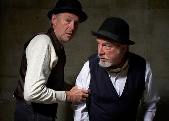 Keith Burkland (left) plays Vladimir Jack Halton plays Estragon in Waiting for Godot. - MICHAEL DAVID ROSE