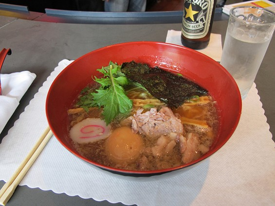 Ken Ken's shoyu ramen, in better days. - GARY SOUP/FLICKR
