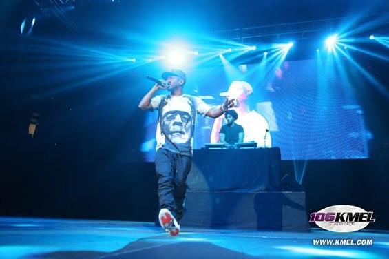 Kendrick Lamar and Frankenstein take the stage. - KMEL