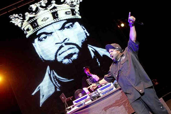 King Ice Cube rules the stage. - CHRISTOPHER VICTORIO