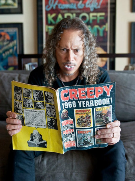 Kirk Hammett photo by Sugarwolf