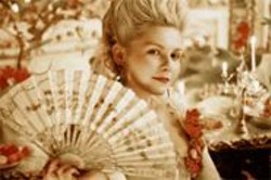 LEIGH  JOHNSON - Kirsten Dunst as the fashion-hungry young queen.