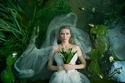 Kirsten Dunst won the Best Actress prize for her role in Lars Von Trier's Melancholia.