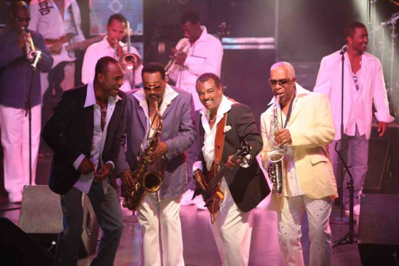 "Kool and The Gang's George Brown, Dennis Thomas, Robert ""Kool"" Bell, and Ronald Bell. - COURTESY OF KOOL AND THE GANG"