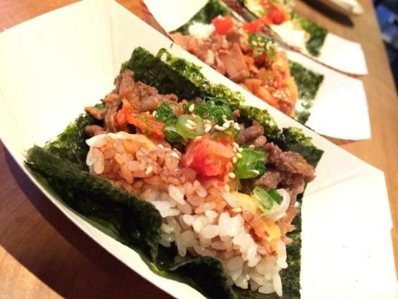 Korean Tacos - MICHAEL KIM