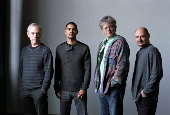 Kronos Quartet, with David Harrington second from right. - MICHAEL WILSON