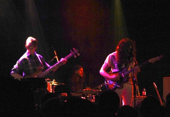 Kurt Vile at the Independent last night.