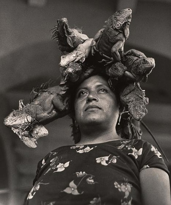 La Nuestra Senora de las Iguanas, Juchitan, Oaxaca, Mexico (Our Lady of the Iguanas, Juchitan, Oxaca, Mexico), 1979 - GRACIELA ITURBIDE