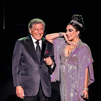 Lady Gaga and Tony Bennett at Concord Pavilion
