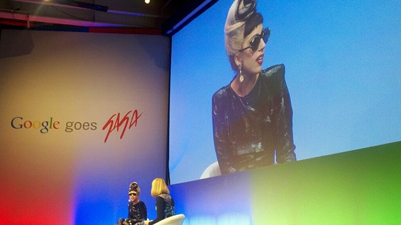 Lady Gaga at Google!
