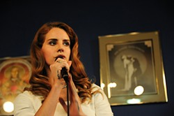 ASHLEY JORDAN GORDON - Lana Del Rey sounded good at Amoeba.