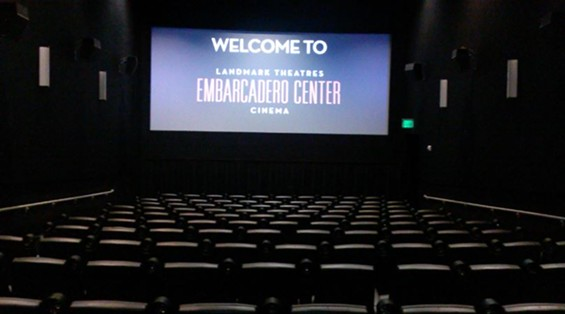 Landmark Theatres Raised the Bar of Comfort at the Movies. - JUAN DE ANDA/ SF WEEKLY