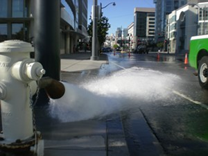 Large amounts of Perrier fired down the drain - JOE ESKENAZI