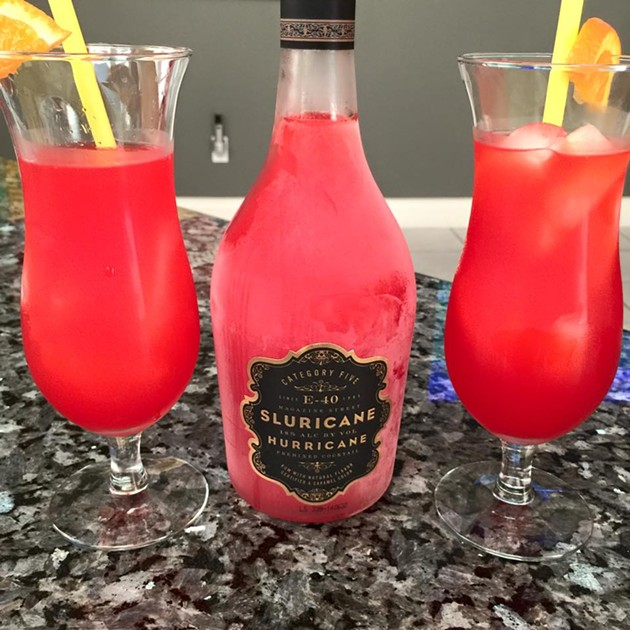 Sluricane. As E-40 says, drink responsibly. Also maybe blindfolded. - VIA E-40 ON FACEBOOK
