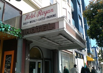 Tourism For Locals: Hotel Royan is Lodged into S.F. History