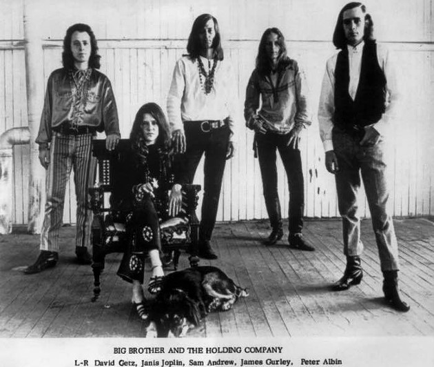 Big Brother and the Holding Company, with Sam Andrew center.