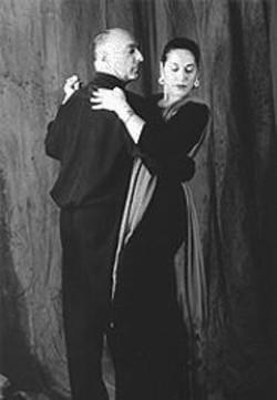 Last Tango in San Francisco: Albert Greenberg and Yolanda Aranda in Una Noche de Sueos Vidi Flores.