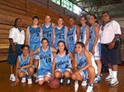 Last year's S.F. girls basketball team.