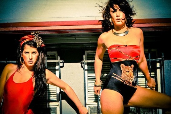 Laura and Ava Lisbona host the Stretch party this Sunday at Monarch. - NINA NOEL