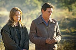 SONY PICTURES CLASSIC - Laura Linney and Gabriel Byrne are the unhappy couple at the center of Jindabyne.