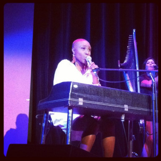 Laura Mvula at Yoshi's last night.