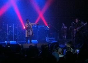 Lauryn Hill at the Warfield last night.