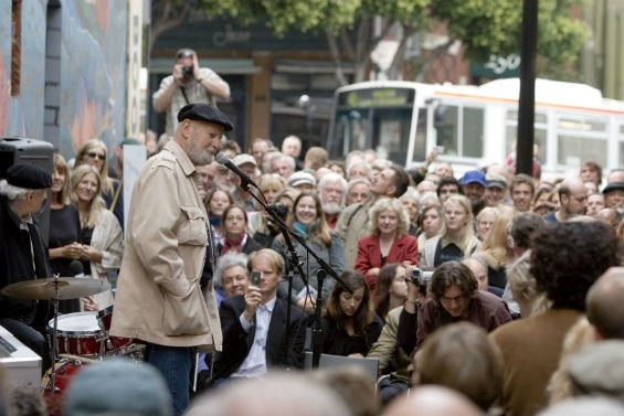 Lawrence Ferlinghetti at the 2009 SFIPF