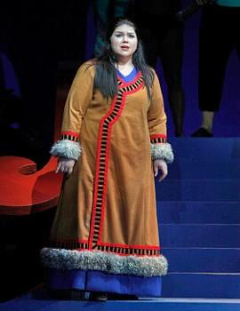 Leah Crocetto as Liù in Turandot - CORY WEAVER