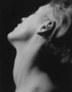 © 2010 MAN RAY TRUST/ARS. COURTESY OF THE PENROSE COLLECTION - Lee Miller's neck; Man Ray's Neck.