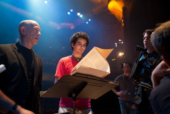 Left to right: J.K. Simmons and Director Damien Chazelle - PHOTO BY DANIEL MCFADDEN, COURTESY OF SONY PICTURES CLASSICS