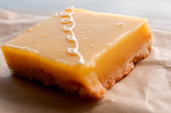 Lemon bar from Pinkie's Bakery: Show yourself just how much you love yourself. - GIL RIEGO JR./SFOODIE