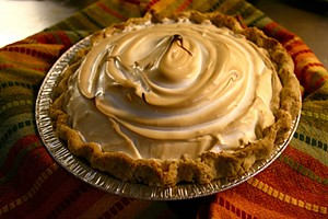 Lemon meringue pie from the Golden Crust, one of Thursday's vendors. - FORAGESF
