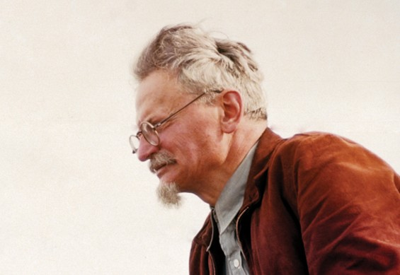 Leon Trotsky, late in life