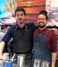 Leon Vasquez (left) and David Gallardo (right) - LOU BUSTAMANTE