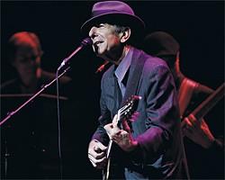 Leonard Cohen: First he took Manhattan.