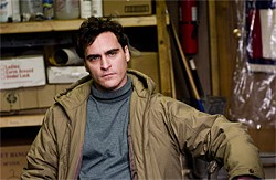 Leonard (Joaquin Phoenix) is a hot mess.