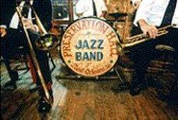 Let the Preservation Hall Jazz Band roll.