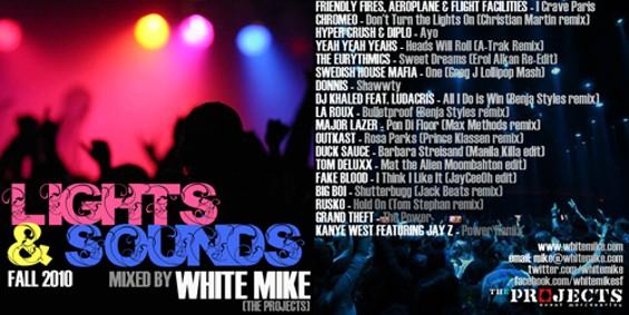 'Lights and Sounds Mixtape' Artwork