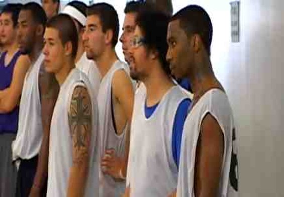Lil B at the Santa Cruz Warriors tryouts on October 14. - KSBW