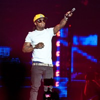 Lil Wayne at the Oracle Arena