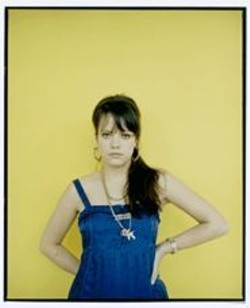 DERRICK  SANTINI - Lily Allen: Not the biggest Lady Sovereign fan.