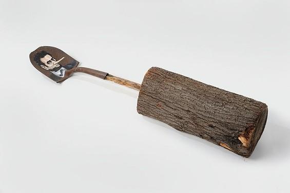 Lincoln Log - COURTESY OF CATHARINE CLARK GALLERY
