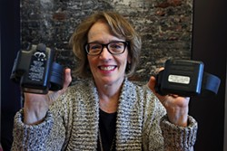 MIKE KOOZMIN - Linda Connelly showcases the latest electronic monitoring innovations.