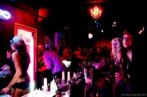 Liquid's Walnut Creek club, from the venue's MySpace photo gallery