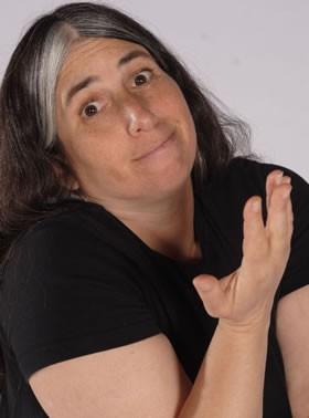 Lisa Geduldig, comedian and purveyor of inclusive comedy - PHOTO COURTESY OF LISA GEDULDIG