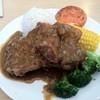 Little Garden's Hong Kong-Style Pork Chops and Baked Spaghetti