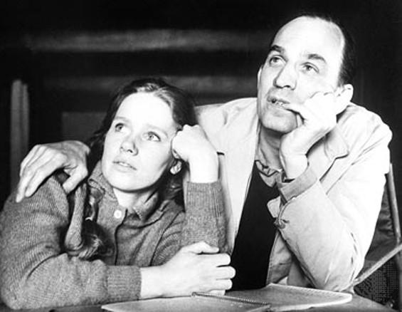 Liv Ullmann and Ingmar Bergman.