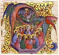 "Look Closer: Two dragons form a capital - ""A."""